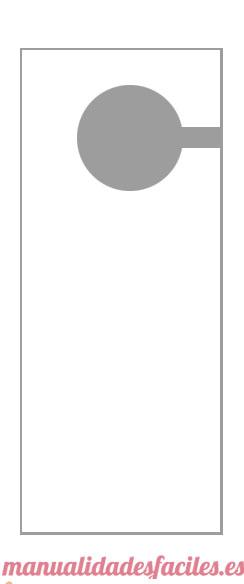 El arte de educar colgadores para la puerta en goma eva for Colgadores para puertas
