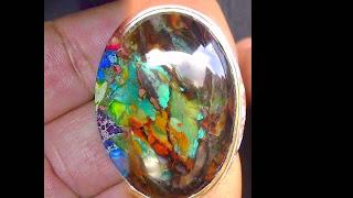 Batu Cincin Akik Edong Panca Warna