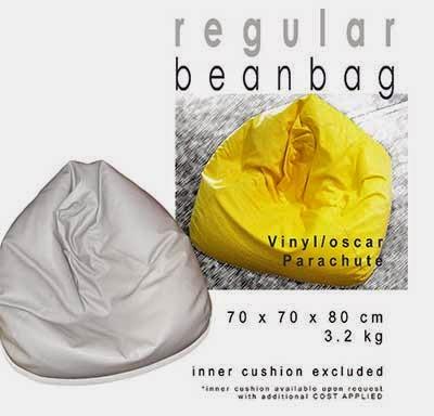 Sofa Bean Bag Bentuk Klasik