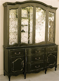 French Provincial Hutch (SOLD)