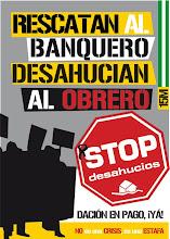 STOP DESAHUCIOS-NOS SIGUEN CHUPANDO LA SANGRE...ESO QUE NOS LA CHUPEN, QUE NOS LA CHUPEN