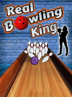Screenshots of the Real Bowling King for java mobile, phone.