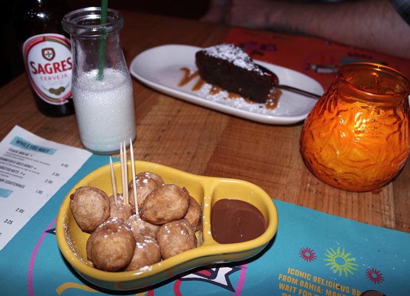 Cabana Brazilian Manchester Chocolate Cake Doughnuts