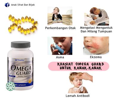 Omega Guard Shaklee untuk Kanak-kanak