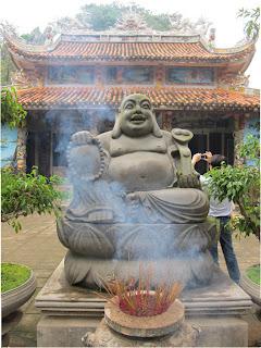 Buda Pagode em Thanh Tam Lang Filho (Vietnã)