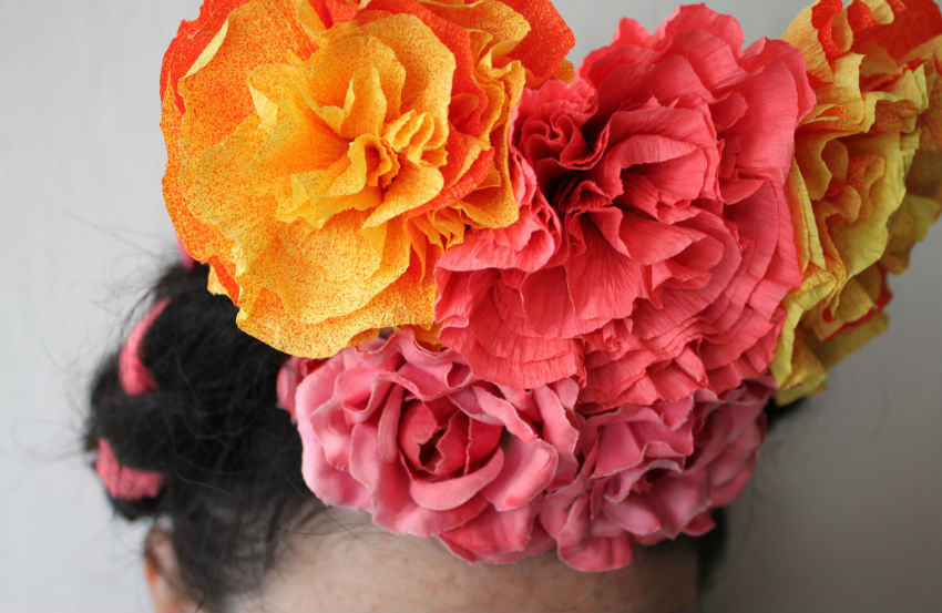 Corner blog how to make crepe paper flowers my way how to make crepe paper flowers my way mightylinksfo