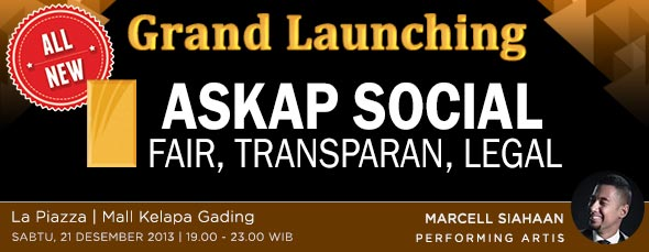 Hari ini Grand Launching Askap Social