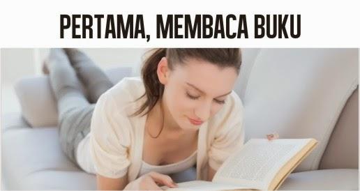 blog.dacris.net Pertama, Membaca Buku