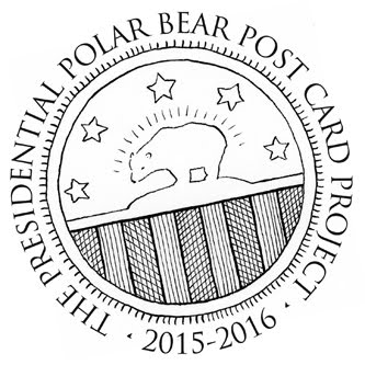 Polar Bear Post Card Project