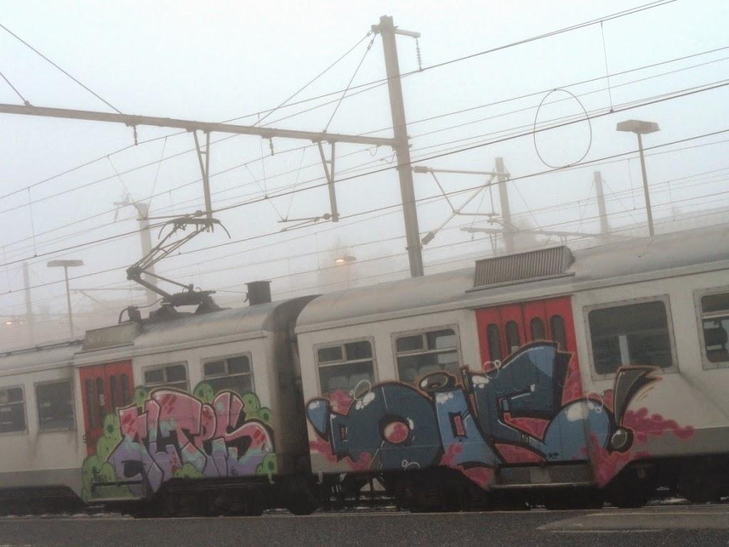 TRAIN ART
