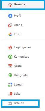 Mengubah setelan google plus Mengatasi Gambar Berubah Gelap Saat Diunggah Ke Blogspot