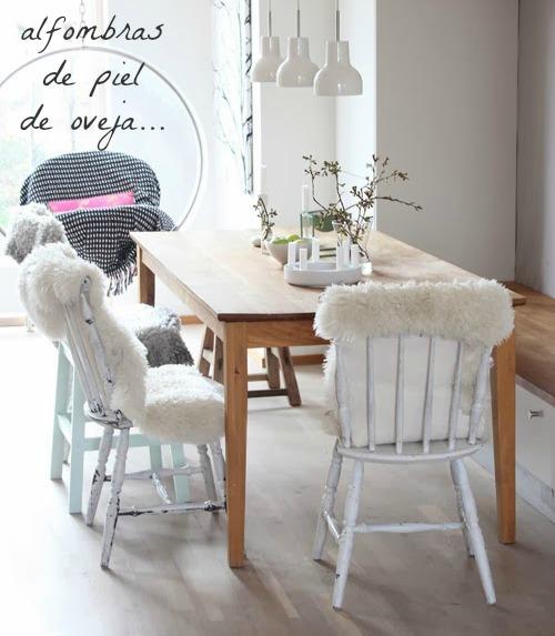 Una pizca de hogar c mo decorar tu sal n en invierno sin - Decorar mi salon ...