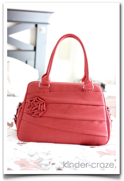 Rose Coral Jo Tote camera bag