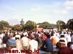 Salat Idul Adha 1434 H di Lapangan Rindam IV Diponegoro Magelang