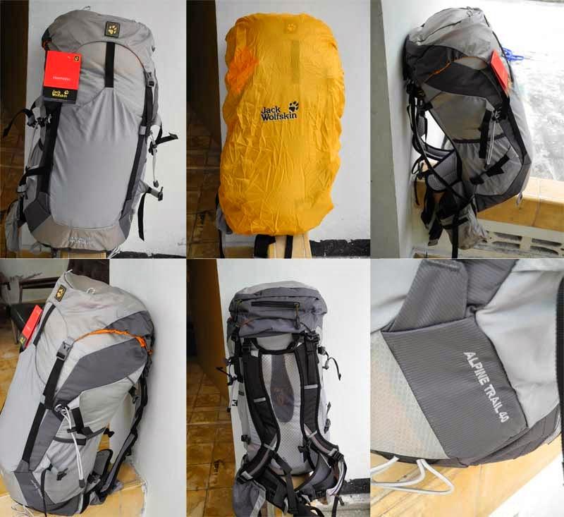 Jack Wolfskin Alpine Trail 40L