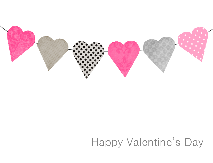 It's just a photo of Superb Valentines Day Card Template