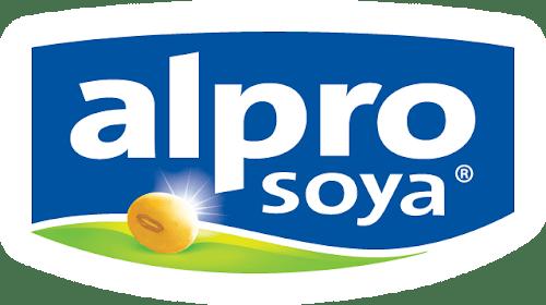 The branding source new logo alpro for Alpro soja cuisine