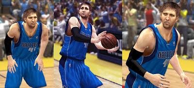 NBA 2K13 Dirk Nowitzki Cyberface Patch