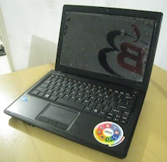 jual laptop bekas goodwin ever ion k710