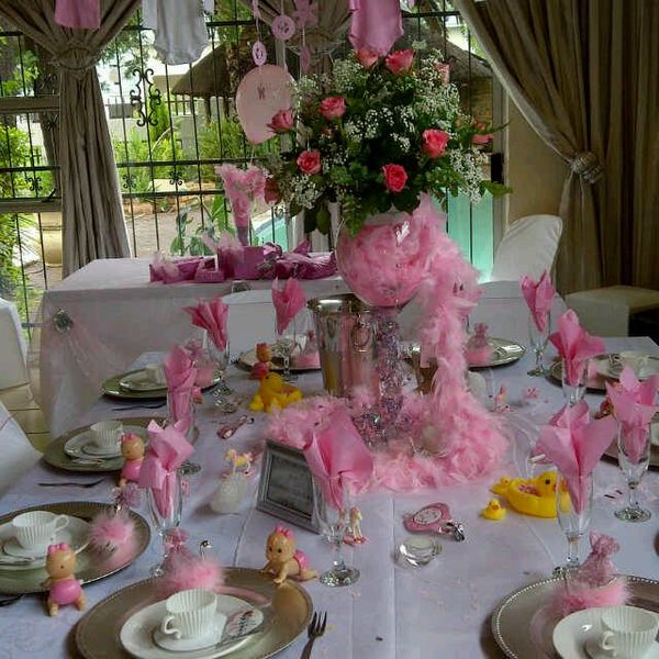 Boutique Venue With Full Setups And Halaal Catering Baby Shower Girl