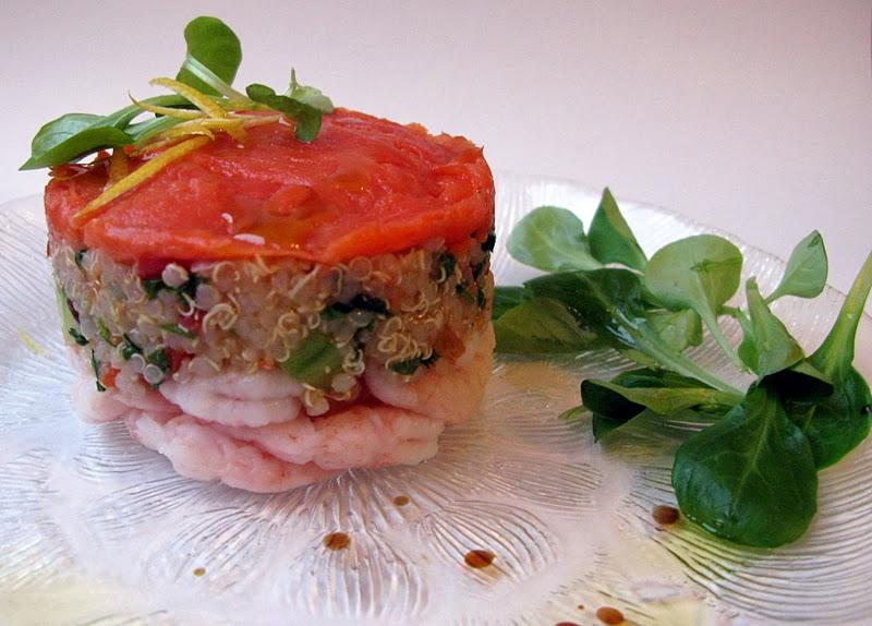 Au gr du march salade de quinoa des grands jours - Emporte piece oeuf au plat ...