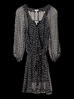 f5 j054 30726 caviar flat - �ifon Elbise ve Bluz Modelleri 2012