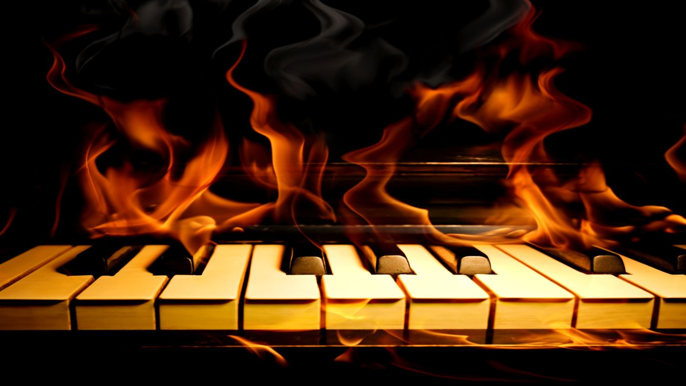 abstract piano art wallpaper - photo #24