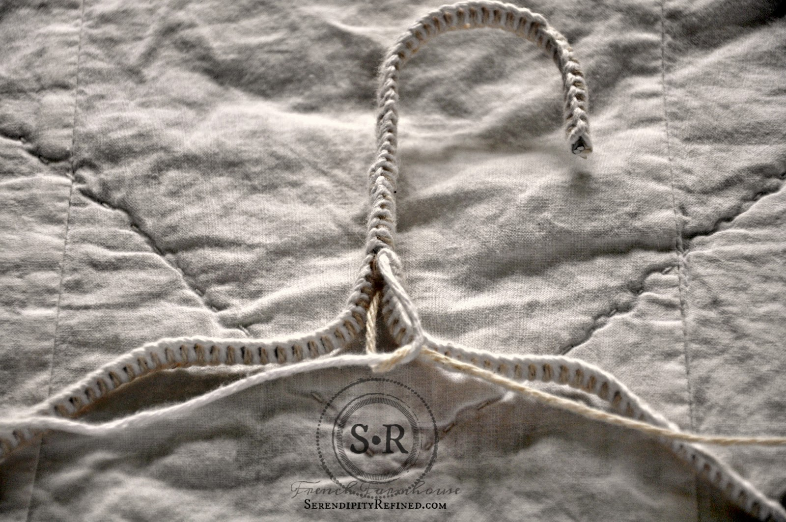 Serendipity Refined Blog: Non-Slip Yarn and Cloth Covered Hanger ...