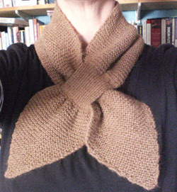 Knitting Pattern Bow Knot Scarf : The Vintage Pattern Files: 1930s Knitting - Bow Knot or ...