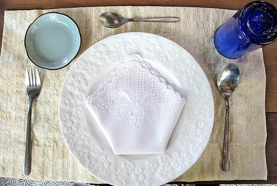 Marcia Adams Alfonso Table Setting