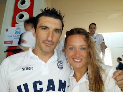 Mireia Belmonte y Sergio Gómez UCAM