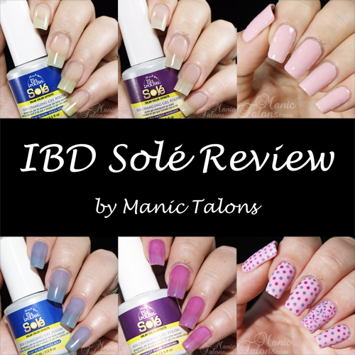 IBD Just Gel Sole Solar Changing Gel Polish Review