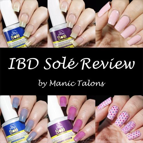 IBD Just Gel Sole Solar Changing Gel Polish Review
