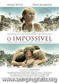 Download O Impossível RMVB Dublado + AVI Dual Áudio DVDRip + Torrent   Baixar Torrent