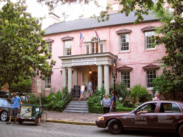 savannah georgia, the olde pink house savannah, savannah best restaurants, where to eat in savannah, proper mag favourite fives, menswear blogger