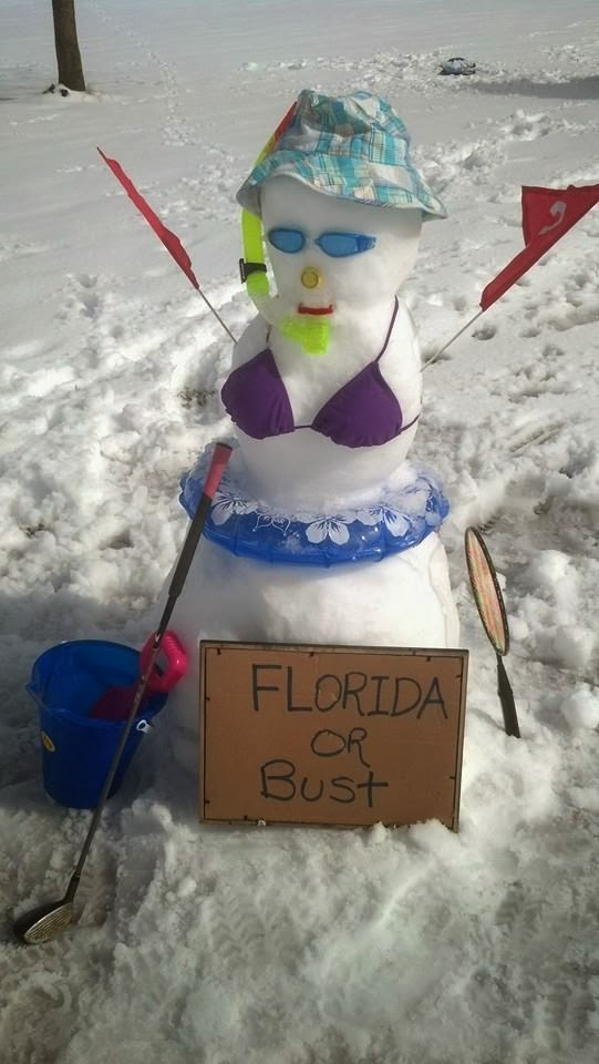 Florida Girl doesn't do snow
