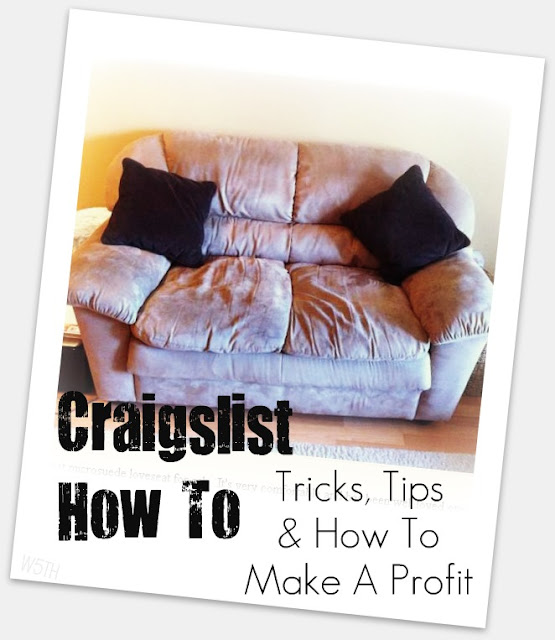 Craigslist How To + Our Couch Swap