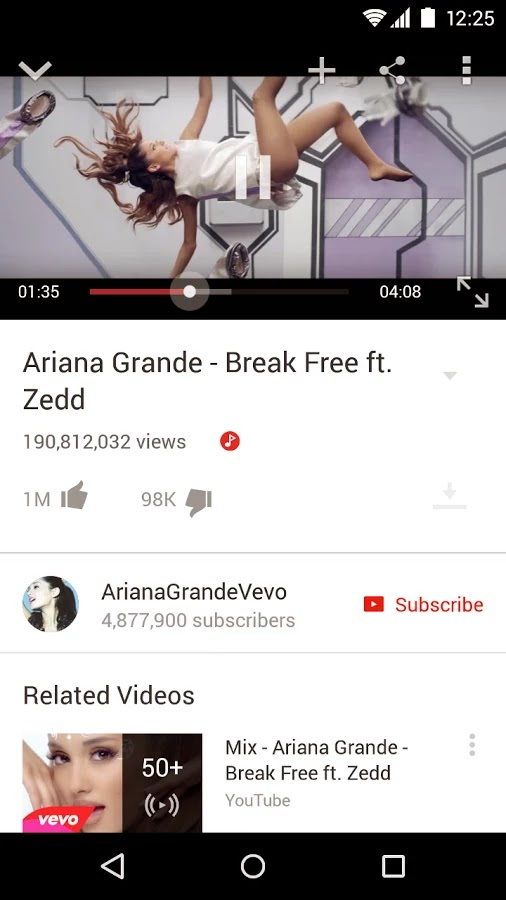YouTube v10.18.55