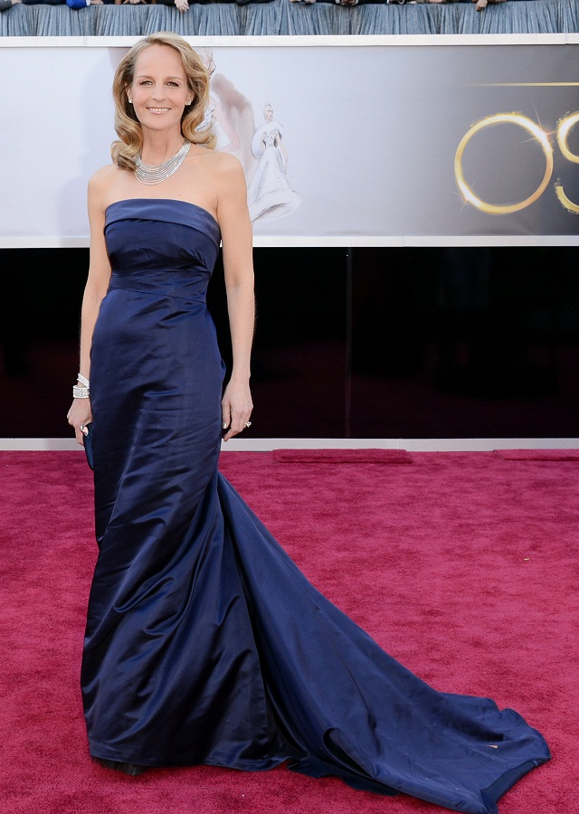 Helen Hunt - Celebrity Fashion at the 2013 Oscars