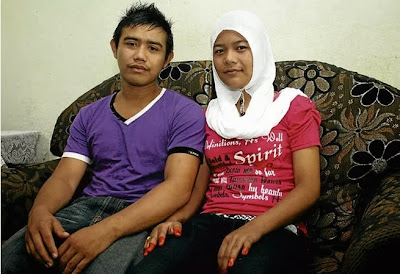 Cerita Sebenar disebalik penceraian pasangan kawin muda nikah Usia 13 tahun