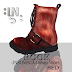 INSOMNIA - SHOES ROOK RED