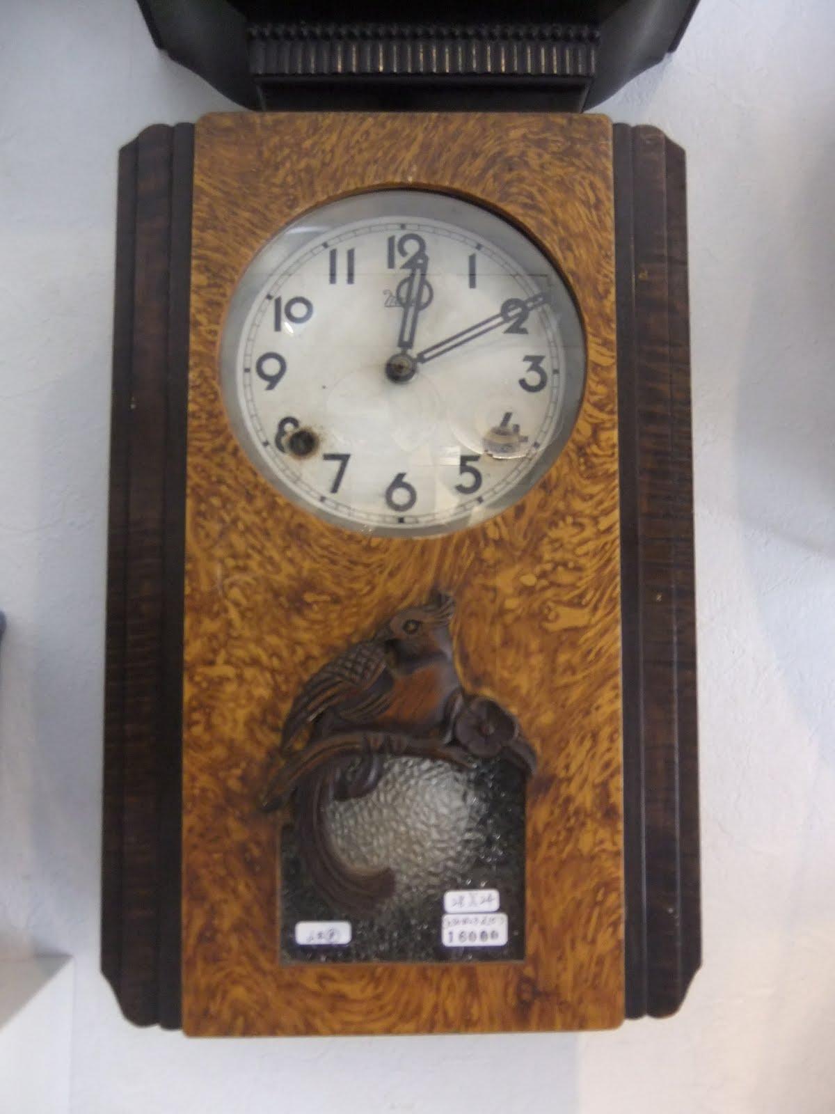meiji製掛け時計