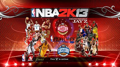 NBA 2K13 2012-13 Playoffs Startup Screen Mod