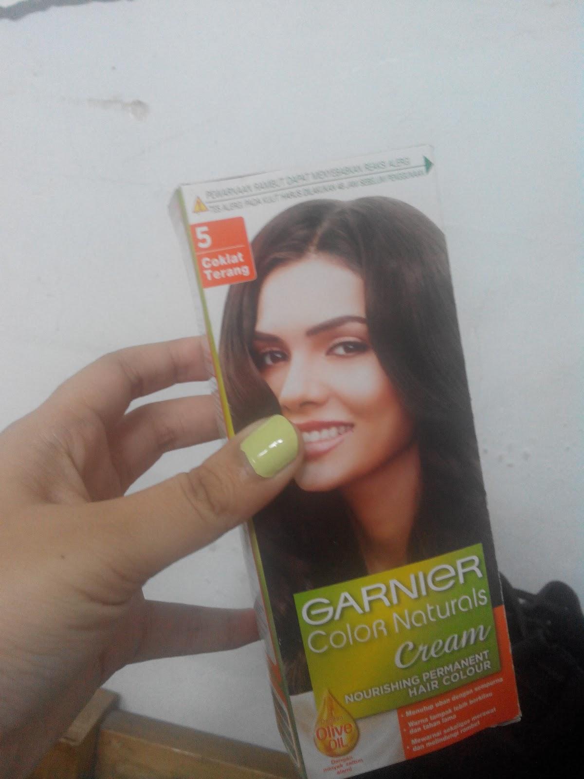 Review Garnier Color Natural Cream 5 Light Brown