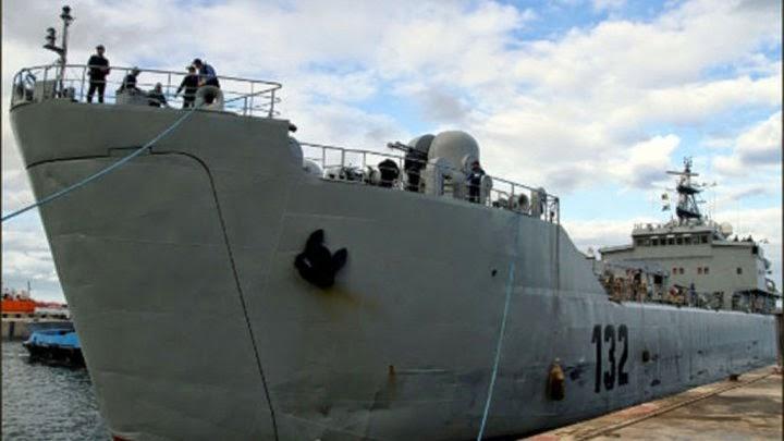 Image of seized oil tanker