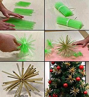 decorações e enfeites para o pinheirinho de Natal