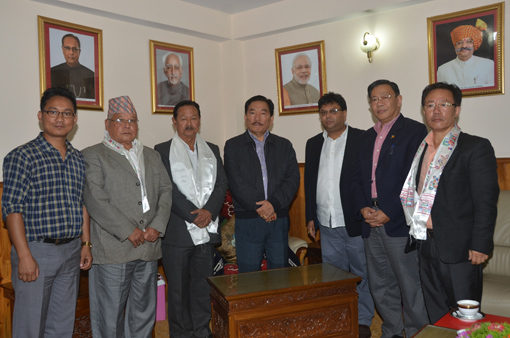 GTA delegation calls on Pawan Chamling, invites him to Rashtriya Sanghgosti