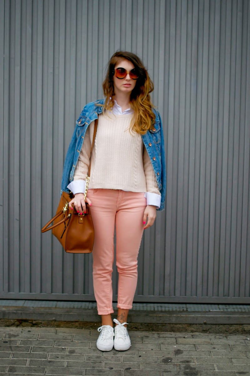 PRENDAS COLOR PASTEL, DENIM JACKET, ZARA JEANS, TENDENCIAS, FASHION BLOGGER