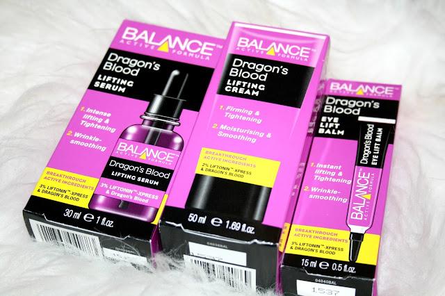 Balance Active Formula Dragon's Blood Range