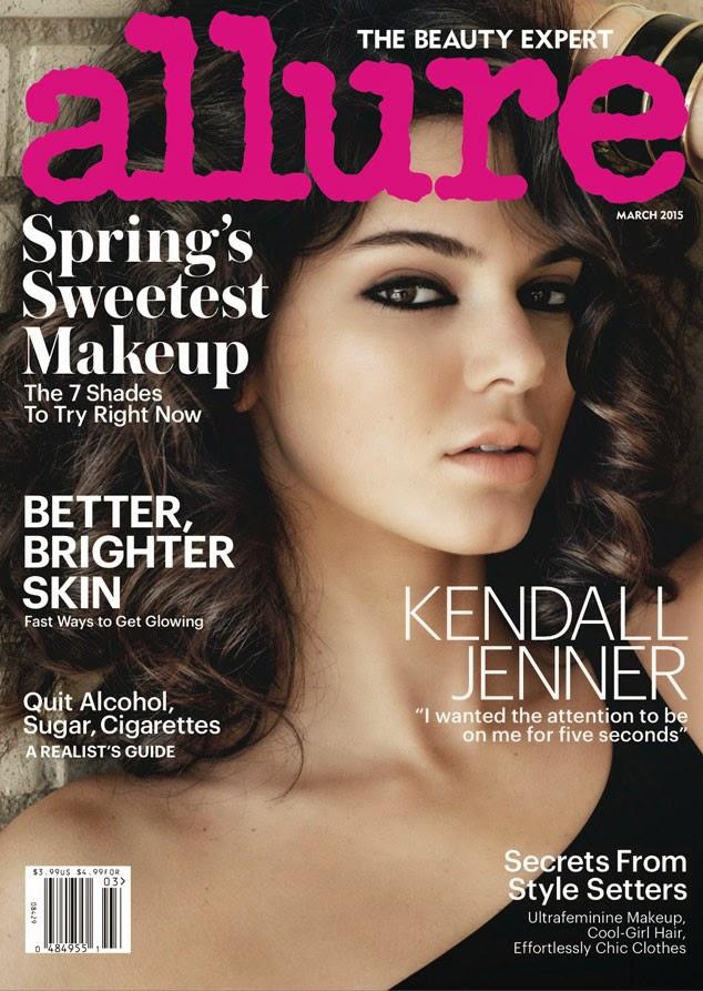 كيندال جينر في صور لمجلة Allure مارس 2015